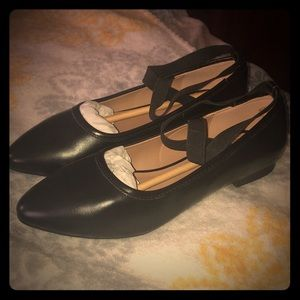 Cushion walk Black Flats